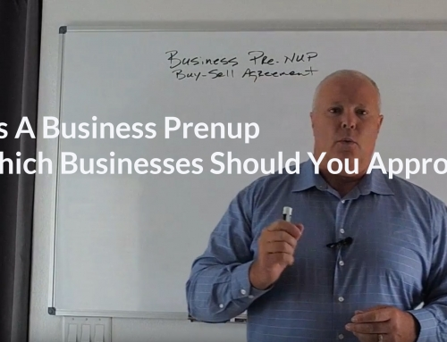 What Is A Business Prenup and Which Businesses Should You Approach?